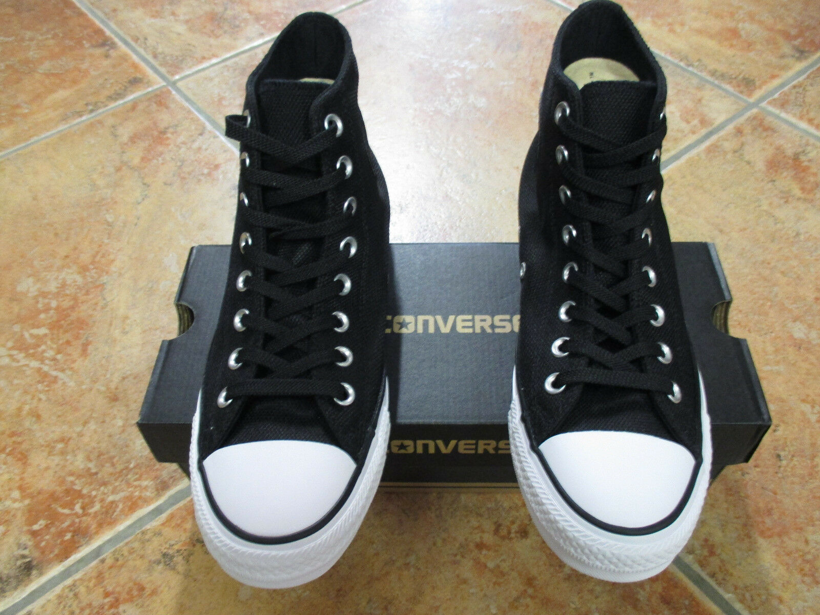 Converse Chuck Taylor All Star HI Canvas Trainer Gr 43 Black  157442C