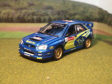 Subaru Impreza WRC P.Solberg P.Mills In Blue Missing Door Mirror 1/43rd Scale