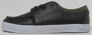 Fallen BIG KIDS Yuma Skate Shoe, Black/Warm Grey, Size 5 M US