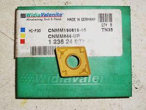WIDIA Valenite Carbide Tip inserts TN35 CNMM190616-65 CNMM644-UR