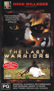 THE-LAST-WARRIORS-Mike-Willesee-2-VIDEO-Set-VHS-Pal-SirH70