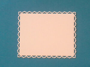 Pearl-Edged-Rectangle-Die-Cuts-In-White-Card-Choose-From-6-Sizes-Amounts