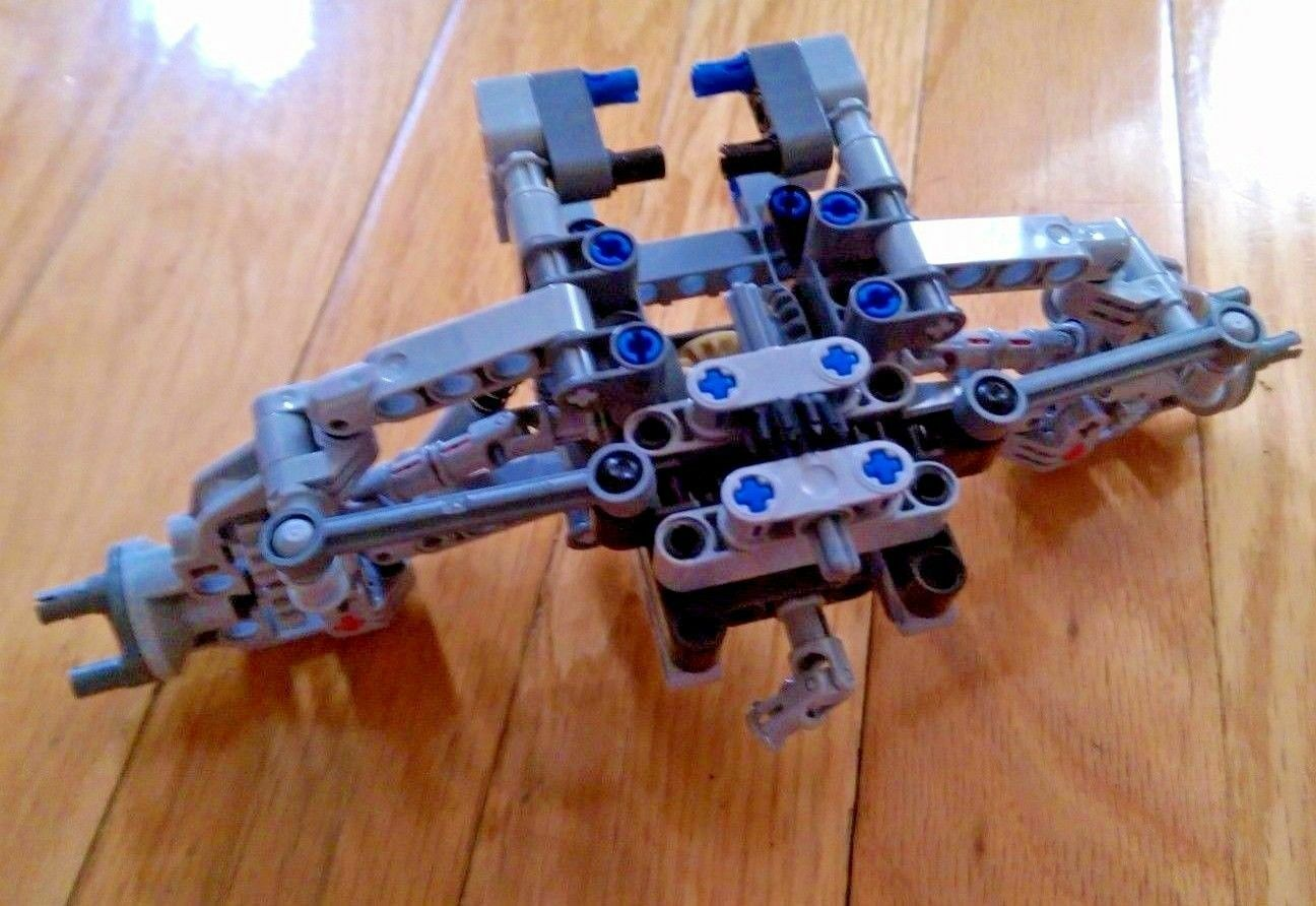 LEGO Technic Wide Front Drive, Steering, Suspension for Servo Motor - new parts