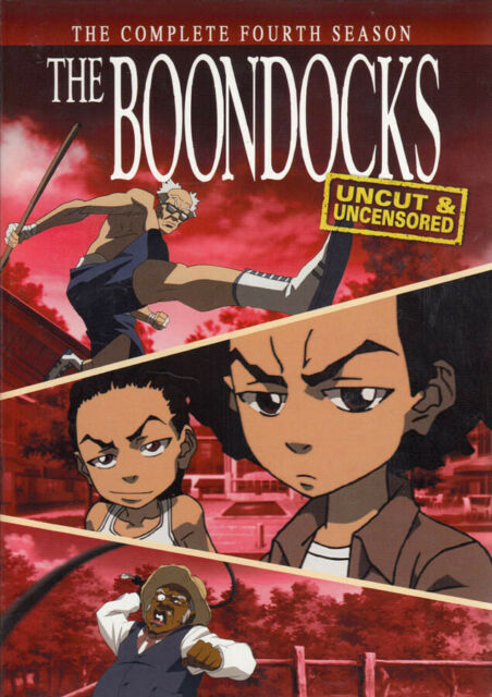 THE BOONDOCKS - THE COMPLETE (4TH) FOURTH SEASON (KEEPCASE) (DVD)