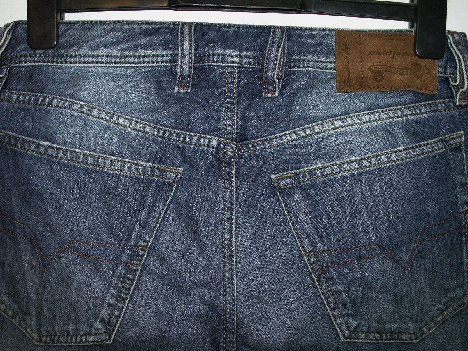 Diesel waykee regular-straight fit jeans wash 0814E W30 L32 (a4242)