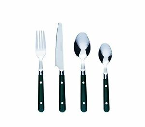 Bon-Brasserie-16-Piece-Stainless-Steel-Cutlery-Set-Green