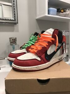 Off White Jordan Chicago High About Details 1 Retro ZXiPkuTO
