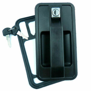 For-TALBOT-EXPRESS-FIAT-DUCATO-CITROEN-C25-REAR-EXTERIOR-DOOR-HANDLE-LOCK-2-KEYS