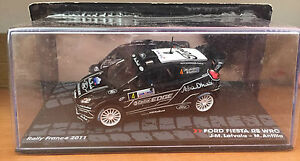 DIE-CAST-034-FORD-FIESTA-RS-WRC-RALLY-FRANCE-2011-034-PASSIONE-RALLY-SCALA-1-43