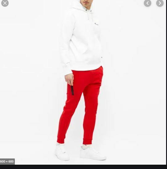 New Mens 2xl Xxl Nike Tech Fleece Joggers Slim Taper Pants Glacier Grey 805162 Dieviete Lv