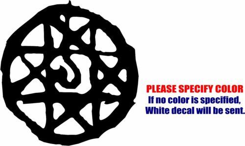 "Blood Seal Symbol Decal Sticker JDM Funny Vinyl Car Window Bumper Truck Wall 6/"""