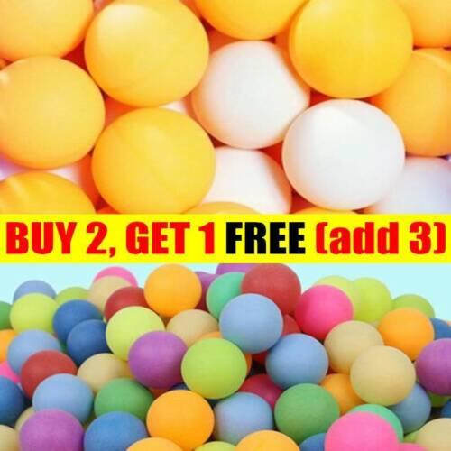 25Pcs Ping Pong Balls 40mm Mixed Colours No Logo Table Tennis Beer Wholesale NV