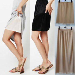 Women-Half-Slip-Waist-Intimate-Petticoat-Half-Slips-Dress-Fashion-Underskirt-New