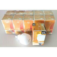 SET 10/20/50/100 BOMBILLAS 25W CASQUILLO GORDO E27 INCANDESCENTE CLASICA VINTAGE