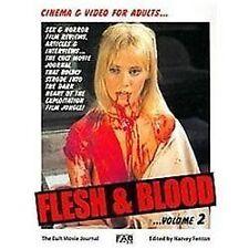 FLESH AND BLOOD: The Cult Movie Journal Vol. 2- Harvey Fenton '12 FAB 1st PB Ed.
