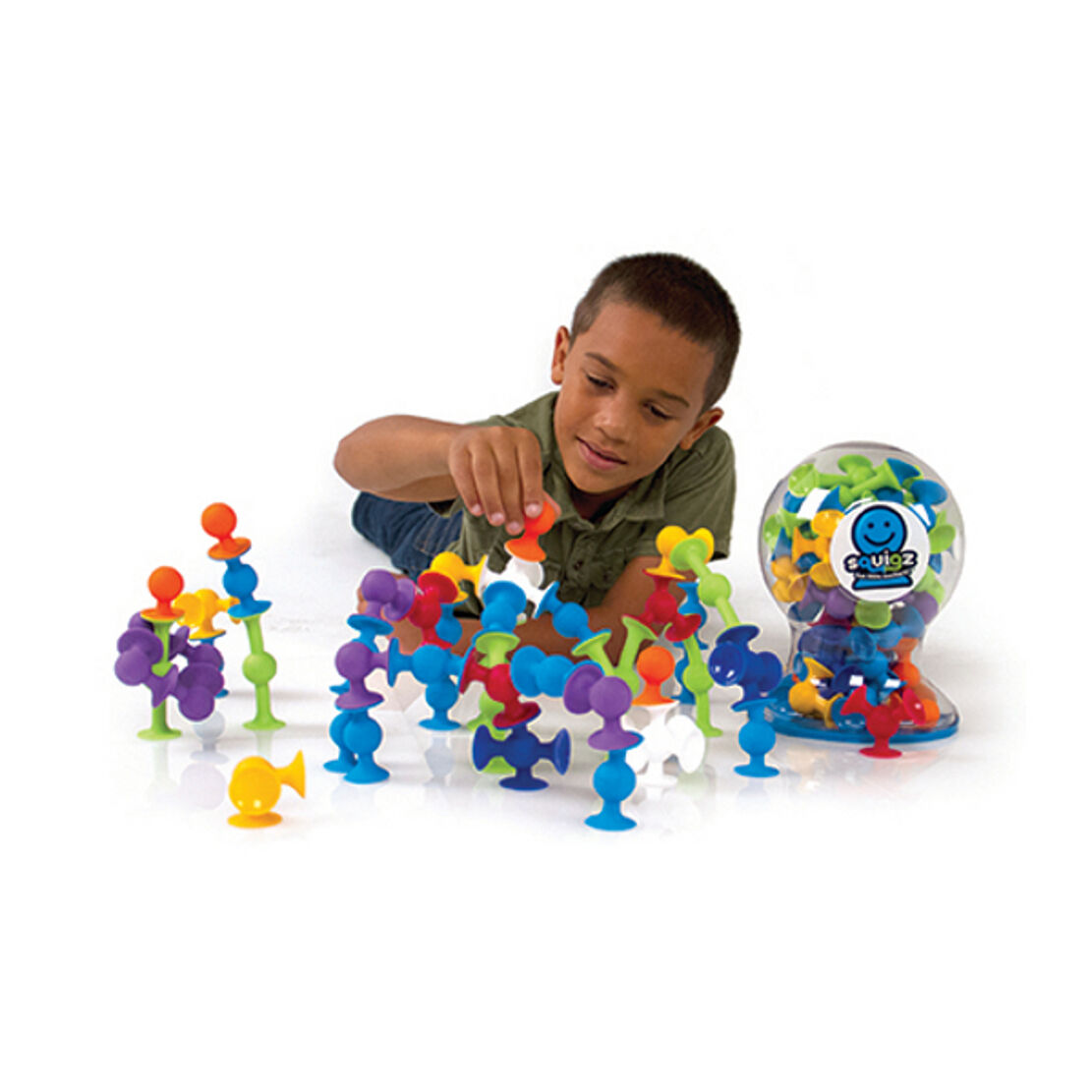 Squigz 50 Piece Set - Suction Construction For Kids Aged 3 to Adult