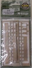 Ratio 219 - Concrete Fencing            (Plastic Kit)          N Gauge