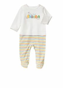 NWT Gymboree My First Easter Footed Longall Romper Boy/'s Size 0-3M