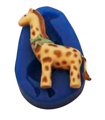 B204 FIRST IMPRESSIONS MOLDS Baby Giraffe Silicone Moulds
