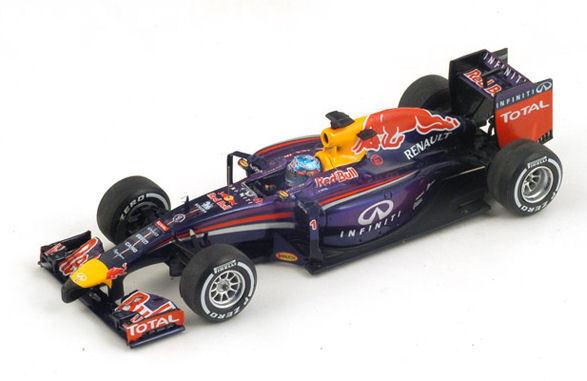 rosso Bull S. Vettel 2014 Retirosso Australian GP 1 43 Model S3085 SPARK MODEL