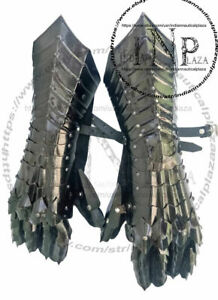 Nazgul-Gauntlets-Steel-Medieval-Armor-Lord-of-the-rings-lotr-Nazgul-Fantasy-Gift