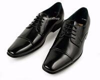 Delli Aldo Fashion Oxfords Mens Dress Shoes Classy Cap Toe Black Style In Italy