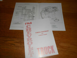 1968 CHEVROLET TRUCK WIRING DIAGRAM MANUAL / '68 CHEVY DIAGRAMS   eBay   Chevrolet Wiring Diagrams Manuals      eBay