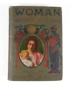 WOMAN-Girlhood-Wifehood-Motherhood-Hygiene-Tocology-Pediatrics-Solis-Cohen-1906