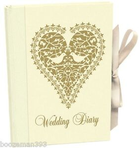 Wedding Planning Book.Details About Wedding Planner Book Love Doves Vintage Diary Journal Organiser Engagement Gift