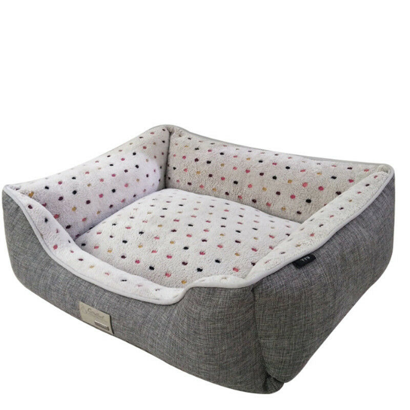 Self-Warming Cat and Dog Bed Bed Bed Cushion for Medium large Dogs Short plush b199ee