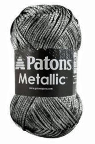 Patons Metallic Yarn Shimmer Fabulous Drape 85g Color Choice Loom Knit Crochet