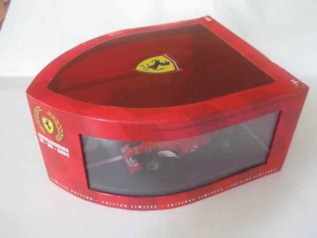 HOT WHEELS Mattel Ferrari Hungaroring 15.08.2004 1 43 World Champio nouveau dans neuf dans sa boîte