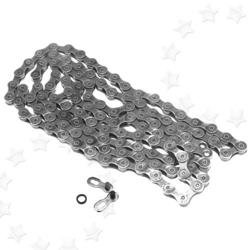 "SRAM PC-951  9 Speed  Mountain Bike Chain 114 Links Nickel Plated 1//2/"" x 11//128"