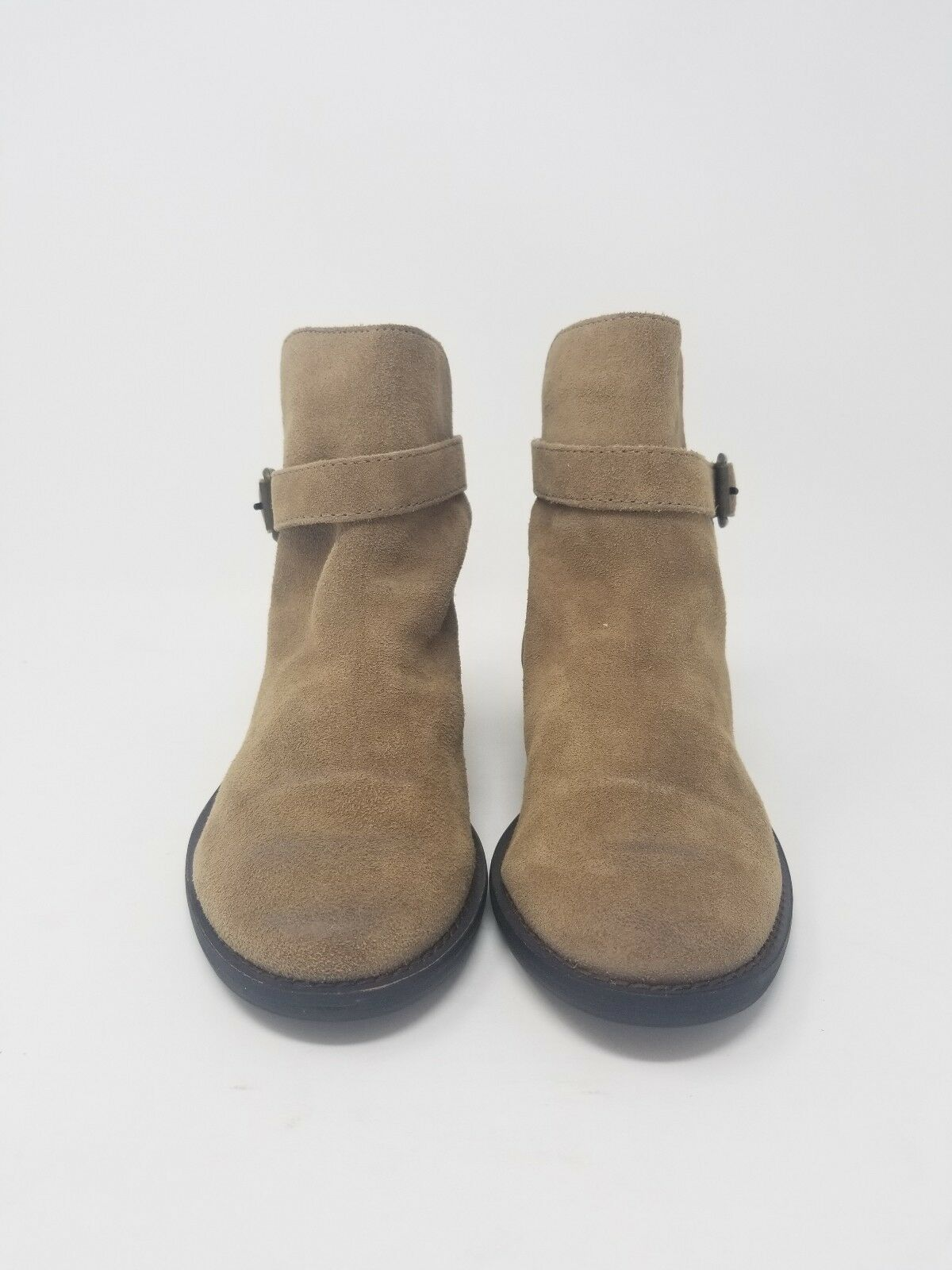 New Sam Edelman Harness Malone Distressed Brown Suede Harness Edelman Ankle Boot US 5 3784f0