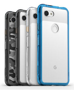 For-Google-Pixel-3a-3a-XL-Ringke-FUSION-Clear-Shockproof-PC-TPU-Cover-Case