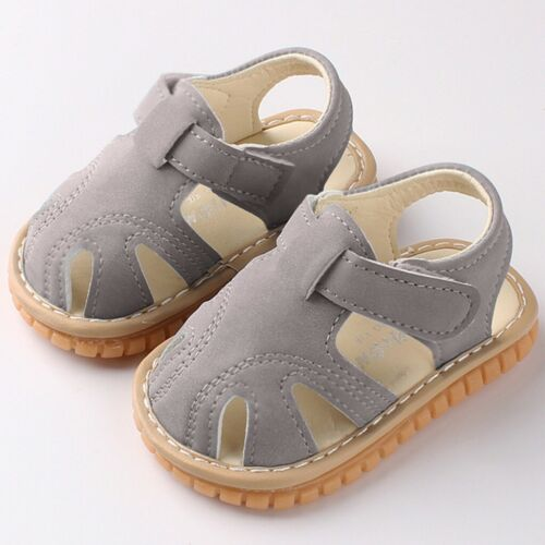 Newborn Infant Girls Baby Boys Flat With Cute Summer Sandals Cute Soft Shoes