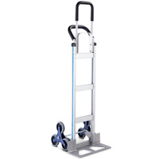 2 In 1 Hand Truck Heavy Duty 550lbs Stair Climbing Aluminum Cart Dolly With Wheels
