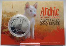 1 dollari 2017-Australia-Archie-Alpine Dingo 1 OZ ARGENTO solo 3000 pezzi