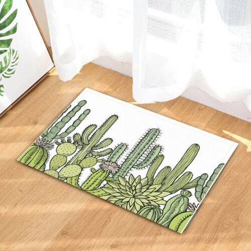 """Mexican Wild Cactus Shower Curtains Bathroom Waterproof Fabric /& Hooks 71/"""""""