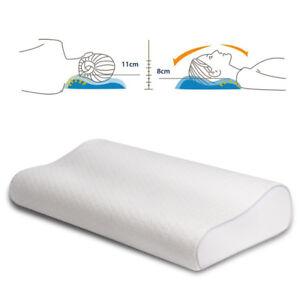 orthop disches memory foam kopfkissen nackenst tzkissen viscoelastisches kissen 4260424918794 ebay. Black Bedroom Furniture Sets. Home Design Ideas