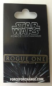 Disney-Star-Wars-Rogue-One-039-A-Star-Wars-Story-039-Force-For-Change-Pin-NEW