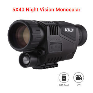 5x40-Infrared-IR-Night-Vision-Digital-Video-Camera-Monocular-Scope-Telescope-USA