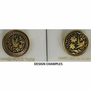Damascene-Gold-Dove-of-Peace-Design-Round-Brooch-by-Midas-of-Toledo-Spain