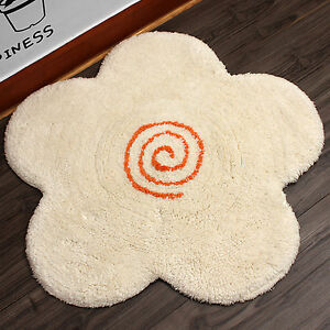 55x55 New Cotton Flower Shape Mat Floor Bath Mat Carpet