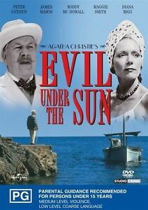 Agatha-Christie-039-s-Evil-Under-The-Sun-DVD-FREE-POST