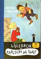 Buch Astrid Lindgren NORWEGISCH: Lillebror og Karlson på taket,Karlsson vom Dach