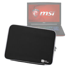 Black Impact-Resistant Neoprene Case/Pouch/Cover for MSI GT70 / GT72 Dominator