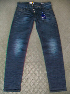 MENS-G-STAR-039-3301-LOW-TAPERED-RL-039-JEANS-BNWT-SIZE-28
