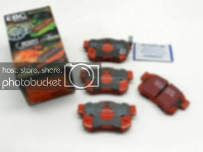 CERAMIC - SPORT EBC REDSTUFF BRAKE PADS FRONT DP31229C