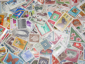 Lot-x200-Timbres-Poste-Neuf-Differents-sans-Charniere-New-Stamps-Tout-Pays